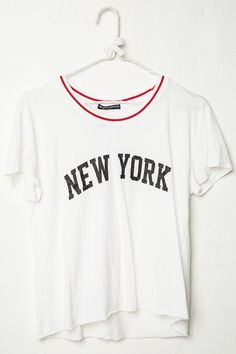 Brandy ♥ Melville   Adalyn New York Top - Graphics