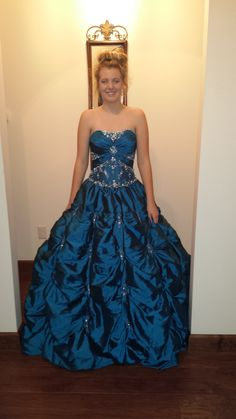 Gorgeous Mori Lee Dress - Just purchased for daughter off ebay. (twice loved) recycle, renew, repeat, relove