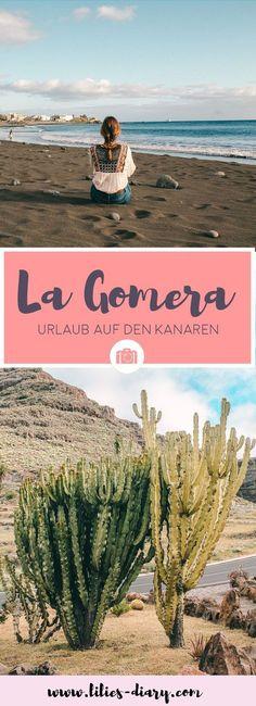 Die Kanareninsel La Gomera: Die zweitkleinste Kanareninsel ist ein absoluter Geheimtipp. Erreichen könnt ihr die Insel auf den Kanaren mit der Fähre ab der Insel Teneriffa. La Gomera ist ein Paradies für Wanderer und Naturliebhaber. Besonders schön sind die Wanderrouten durch den Der Nationalpark Garajanoy. Whale Watching könnt ihr auch erleben. Alle Reisetipps findet ihr auf dem Reiseblog Lilies Diary.