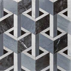 Lithos Mosaico Italia Cube 300 x mod Floor Patterns, Tile Patterns, Textures Patterns, Wall Tiles Design, Floor Design, Marble Columns, Marble Floor, Accessoires Iphone, Tiles Texture