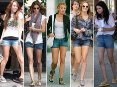 Miley Cyrus, Gisele Bündchen, Blake Lively, Leighton Meester e Selena Gomez