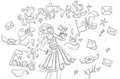 Jills tekening.
