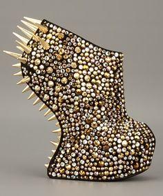 """Studded Gaga"" -Giuseppe Zanotti fall 2012 collection"