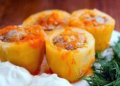 Самая вкусная фаршированная картошка. Обсуждение на LiveInternet - Российский Сервис Онлайн-Дневников