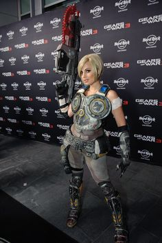 Anya Stroud (Gears of War 3) - Megan Marie