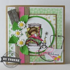 3d Cards, Marianne Design, Wells, Daisy, Challenges, Frame, Blog, Home Decor, Picture Frame