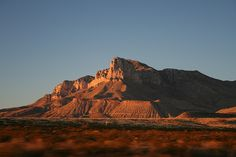 El Capitan Peak, Guadalupe Mountains, Texas ~ Highest Point in Texas Guadalupe Peak, Texas Flood, Texas Things, Mountain High, Texas Homes, I Want To Travel, Heaven On Earth, View Image, Monument Valley