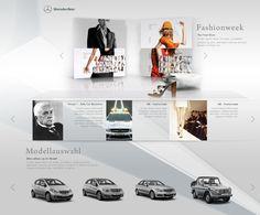 Mercedes Benz Magazine  Client / Mercedes-Benz Magazine Agency / Scholz & Volkmer / BlackBeltMonkey Creative & Art Director: Mike John Otto Designer: Linus Lang