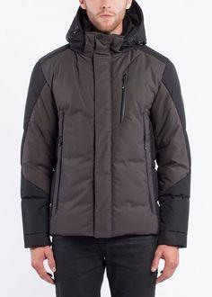 NOIZE- men- HENDRIX - slate Winter Coat, Slate, Rain Jacket, Windbreaker, Raincoat, Winter Jackets, Stuff To Buy, Fashion, Winter Coats