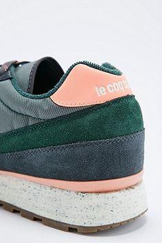 Le Coq Sportif - Baskets Eclat vert pin - Urban Outfitters