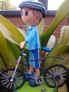 Fofucha Ciclista 2 - General www.fofuchasbell.es