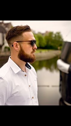 Great #beard #stylish and well groomed it's also #scottish  and the #shirt you ask? Well that's a #craggandtail who make smart #casual shirts for men incorporating #tartan and they look #fantastic - think this one is the #mcleod tartan } #fashion #inspiration #beardlove #beardgang #beardedbasturds #pogonophile #hipster #edinburgh #businesslife #launchingsoon