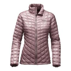 The North Face Thermoball Full Zip Jacket for Women in Quail Grey