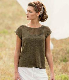 Linum Tee Knitting Pattern - Patterns - Knitting
