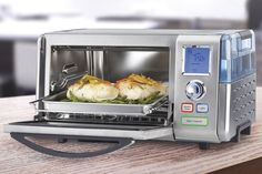 Steam ovens are gaining in popularity, and are sold by manufacturers like Bosch, Miele, and Thermador. They'll cook your food quickly and keep it moist.