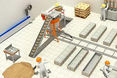 Оборудование для производства газобетона в Москве, для газобетонных блоков в Санкт-Петербурге - цена на станки, установки, заводы
