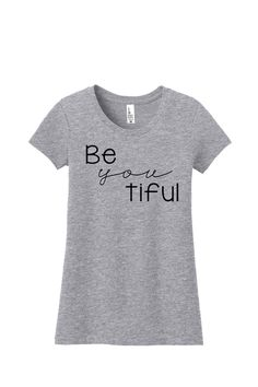 """Kids Be """"you"""" tiful Tees - 2 colors from Simply Sage Market"""