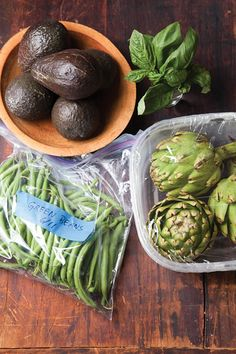 The Right Spot - Saveur.com  To store your vegetables so they last! You may be surprised to find out the best way!