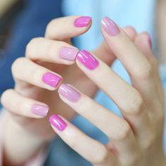 Nail polish, nail nail, super nails, colorful nail designs, nail co Love Nails, Pink Nails, How To Do Nails, Pretty Nails, My Nails, Violet Nails, Pastel Nails, Orchid Nails, Nails Polish