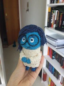 2000 Free Amigurumi Patterns: Sadness doll from the movie inside out