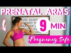 The 9 minute prenatal arm workout that will tighten and tone lean arms while you are pregnant. Get rid of under arm jiggle with this at-home arms workout saf. Diet While Pregnant, Pregnant Mom, Pregnant Barbie, Trimesters Of Pregnancy, Pregnancy Tips, Fit Pregnancy Workouts, Pregnancy Ultrasound, Pregnancy Fitness, Pregnancy Health