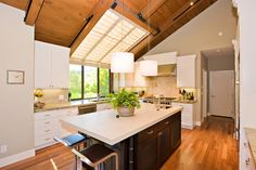 """Look to the sun for lighting- """"Manage sunlight with design-savvy windows, solar tubes and skylights to save energy and show your home's beauty"""""""