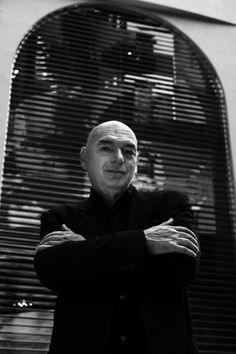 """JEAN NOUVEL: """"Architecture exists, like cinema, in a dimension of time and movement.  One thinks, conceives and reads a building in terms of sequences.  To erect a building is to predict and seek effects of contrast and linkage bound up with the succession of spaces through which one passes."""""""