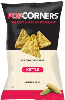 Kettle - Sweet Meets Salty - Popcorners. I'm glad these are a somewhat healthy snack. They are delicious.