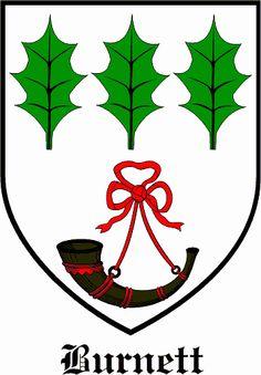 Burnett Family Crest