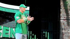 John Cena on WWE Monday Night Raw.
