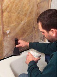 Spruce Up Your Bathroom by Tiling a Shower Enclosure or Tub Surround Tub Enclosures, Shower Enclosure, Shower Tub, Shower Stalls, Shower Niche, Shower Base, Diy Shower, Shower Door, Bath Tub