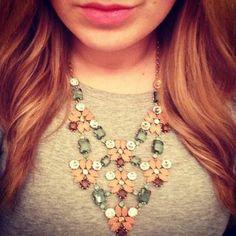 Floral Stone Statement Necklace | Fleurette Statement Necklace | Stella & Dot