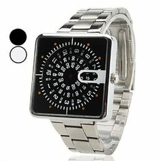Tanboo Unisex Steel Analog Quartz Wrist Watch (Silver) by Tanboo. $9.99. Wrist Watches. Women's, Men's Watche. Casual Watches. Gender:Women's, Men'sMovement:QuartzDisplay:AnalogStyle:Wrist WatchesType:Casual WatchesBand Material:SteelBand Color:SilverCase Diameter Approx (cm):4Case Thickness Approx (cm):0.6Band Length Approx (cm):21.3Band Width Approx (cm):2.2