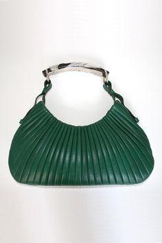 Yves Saint Laurent Leather Pleated Bag