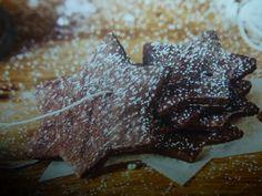 biscotti di natale - stelle di cioccolato