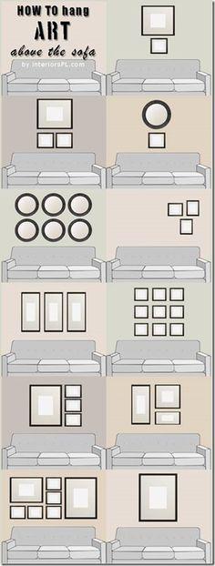 Photo Wall Arrangement Options III