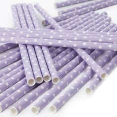 Ginger Ray Polka Dot Paper Party / Wedding Straws Lilac by Ginger Ray, http://www.amazon.co.uk/dp/B00D3MHAQE/ref=cm_sw_r_pi_dp_ShJttb0XZMAHM
