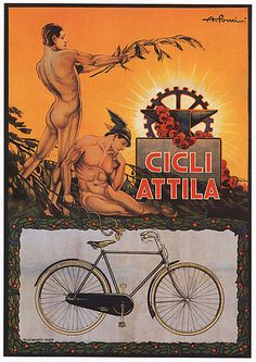 why yes, i will cycle italy. it'd be rude not to... OLD ROSE, hadrian6: Vintage posters. Italy. 1900s.