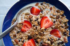 Nutty Coconut Granola! // the year in food
