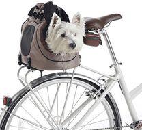 Bolsto transportín perro bicicleta