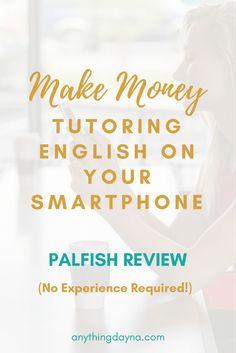Tutor English on your Smartphone: Palfish Review