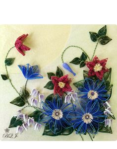 botanical quilling japan インストラクターギャラリー