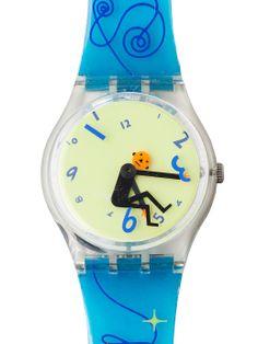 Vintage Swatch Weightless Watch. #AmericanApparel  #swatch