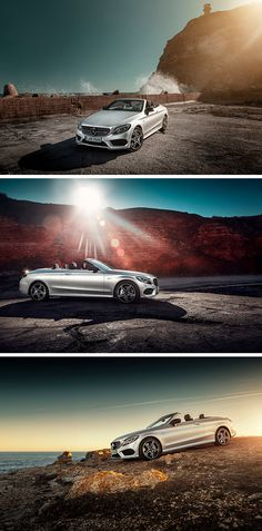 Put down the top and let the fun begin with the Mercedes-Benz C-Class Cabriolet! Photos by Deyan Yordanov (www.didoriginal.com) for #MBsocialcar [Mercedes-AMG C 43 4MATIC | Fuel consumption combined: 8.4–8.3 l/100km | combined CO₂ emissions: 194–190 g/km | http://mb4.me/efficiency_statement]