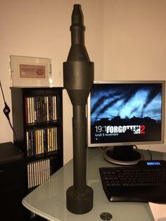 Panzerschreck Rockets Replica - Wehrmacht-Awards.com Militaria Forums