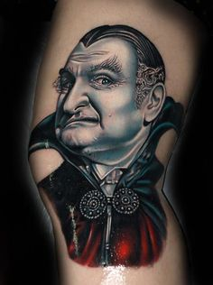 Grandpa Munster #inked #ink #tattoo #tattoos #tats #inkedmag