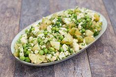 Kartoffelsalat med blomkål og urter