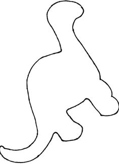 dinosaur craft template - Easy Coloring Sheets