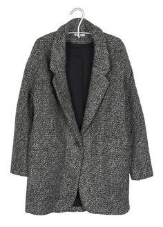 manteau oversize gris by zoe pour femme sur la boutique en ligne place des tendances