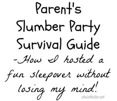 Parent's slumber party survival guide: How I hosted a fun sleepover without losing my mind!